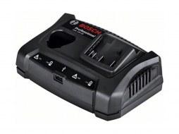 Зарядное устройство BOSCH GAX 18V-30 (10.8 - 18.0 В, 3.0 А, быстрая зарядка, USB)