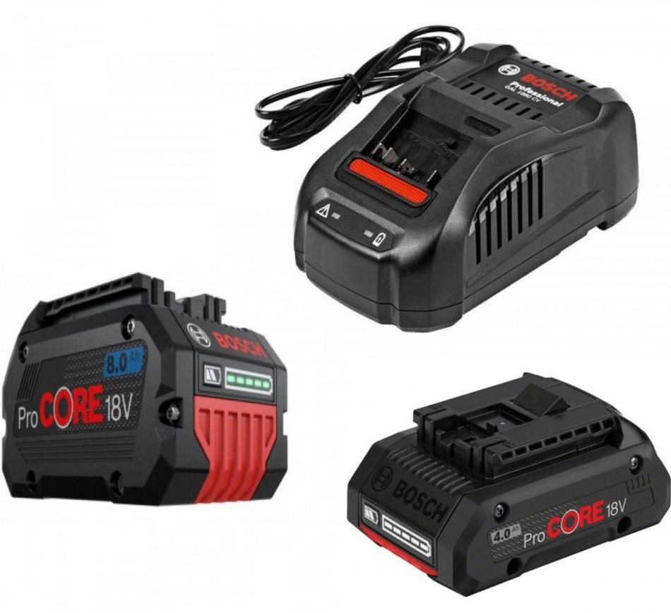 Комплект аккум. ProCORE18V+ зарядн. устройство GAL1880CV