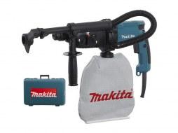 Перфоратор MAKITA HR 2432 в чем. + система пылеудаления (780 Вт, 2.2 Дж, 2 реж., патрон SDS-plus, вес 3.2 кг)