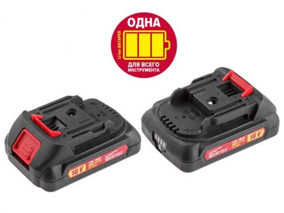 Аккумулятор WORTEX CBL 1820 18.0 В, 2.0 А/ч, Li-Ion