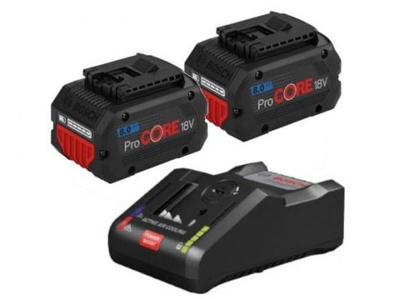 Комплект аккумулятор 18.0 В ProCORE18 V. + зарядн. устройство GAL 18V-160 C