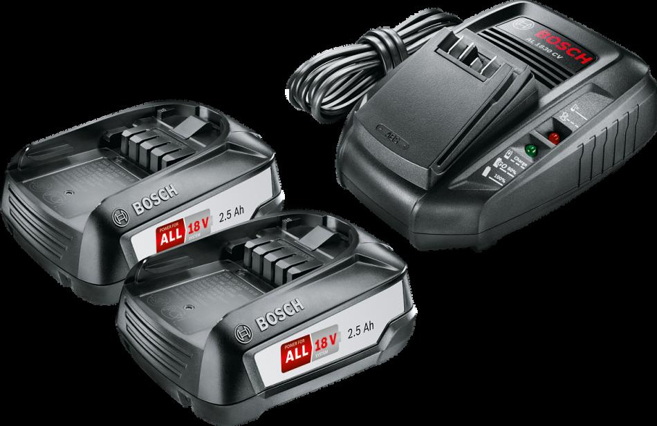 Аккумулятор 18.0 В PBA18 V+BOSCH AL 1830 CV
